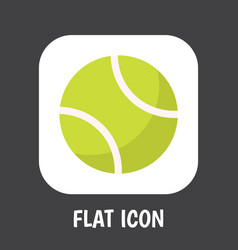 of exercise symbol on tennis vector image