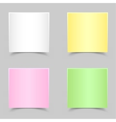 paper for messages vector image
