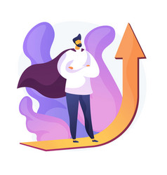 Personal motivation concept metaphor vector