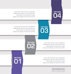 infographic Banners Two vector image vector image