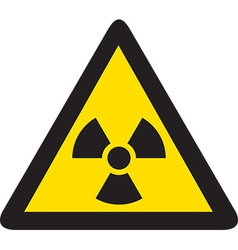 Radiation Sign Icon vector image