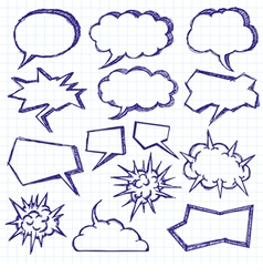 talk vector image