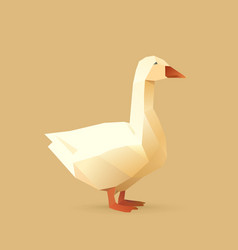 goose vector image