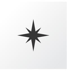 Qiblah icon symbol premium quality isolated vector