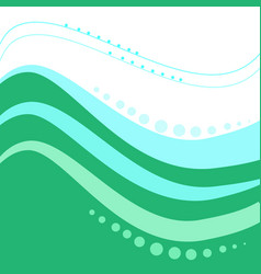 Abstract wavy line modern background vector