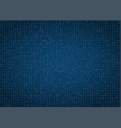 blue computer code background vector image