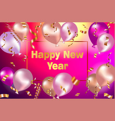 Happy new year celebration background with vector