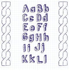 Typeset vector