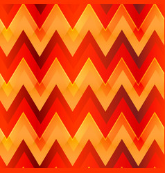 warm color zigzag seamless pattern vector image