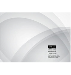 line wave gray and white color abstract vector image vector image