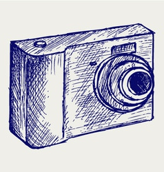 Photo camera vector image