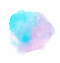 Abstract watercolor texture background vector image