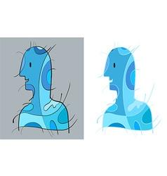 BlueManArt vector image