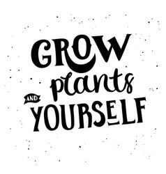 Grow yourself vector