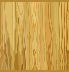 Painted wood texture background yellow color vector