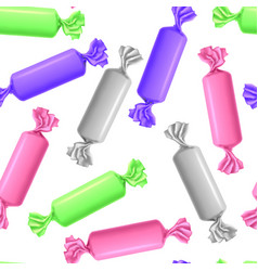 realistic detailed 3d different color wrapped vector image