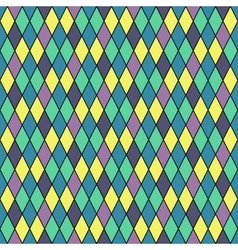 Rhombus seamless colorful pattern vector