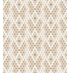 Seamless japanese pattern shoji kumiko in golden vector