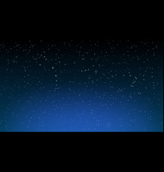 space stars background night sky vector image