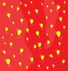 strawberry fruit background vector image