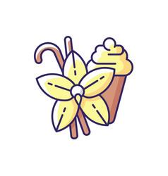 Vanilla rgb color icon vector