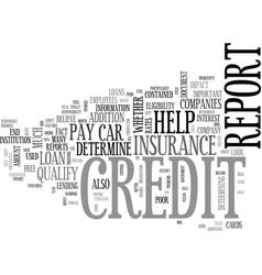 What you need to know about your credit report vector