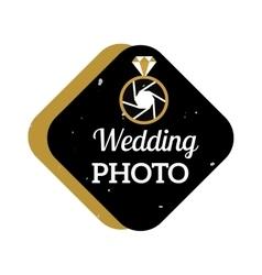 Photographer icon logo vector image vector image