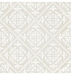 silver vintage wallpaper vector image