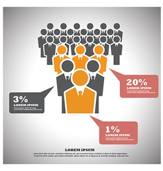 human resources vector image vector image