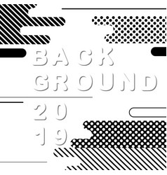 abstract black and white background vector image