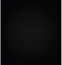 Abstract metallic black background vector