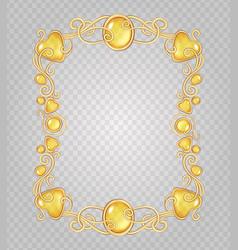 Amber frame vector