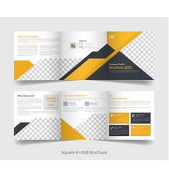 corporate business brochure flyer poster banner vector image