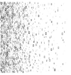 digital data stream encoding random binary vector image