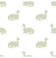 Dino seamless background vector