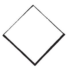 lozenge shield have a escutcheons of maiden vector image