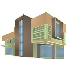 Modern home style vector
