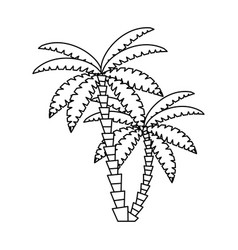 Palms icon image vector