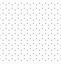 seamless pattern of smooth tiny triangles vector image
