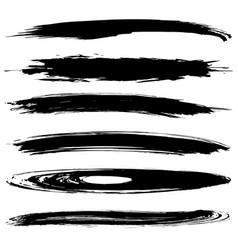 set blobs vector image
