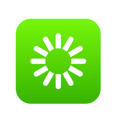 sign download icon digital green vector image