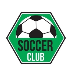 Soccer club logo vector