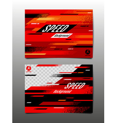 Speed layout template design abstract vector