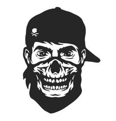 The guy in the bandana vector image
