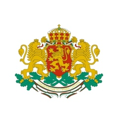 coat of arms of Bulgaria vector image