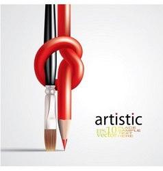 art concept vector image vector image