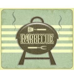 BBQ Menu vector image