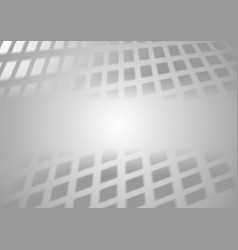 Abstract tech grey squares background vector