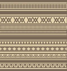 Geometric seamless pattern brown coffee chocolate vector