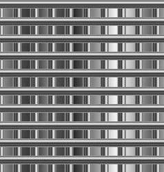 High grade steel background vector image